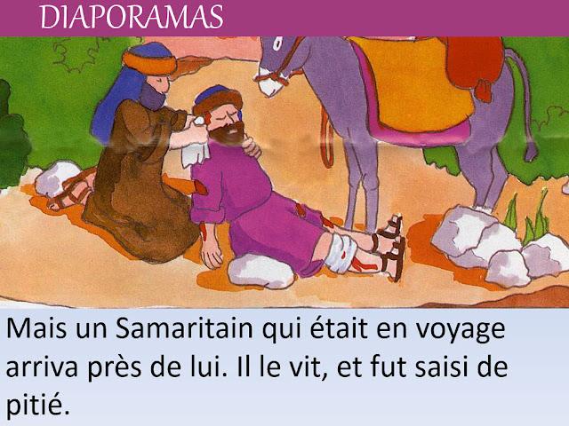 Diaporamas sur le Bon Samaritain
