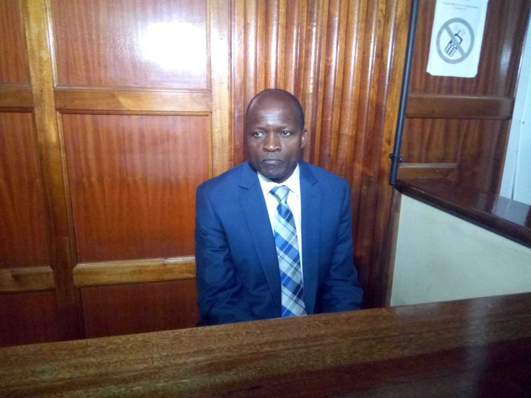 Embattled governor of Migori County Okoth Obado has arrived at the Milimani Courts to face the charges of aiding and abetting the commission of the murder of Rongo University student Sharon Otieno and her unborn baby.