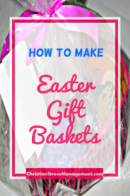 How to make Easter gift baskets