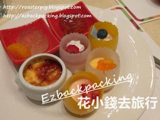 熊貓酒店自助餐甜品