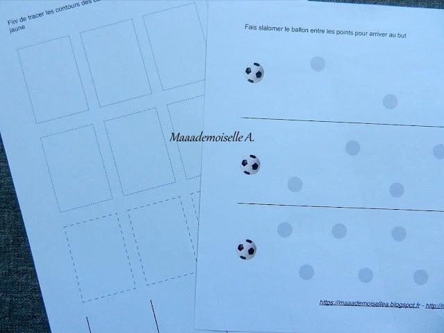 || Cartes de nomenclature et livret d'activités : Football (+ concours)