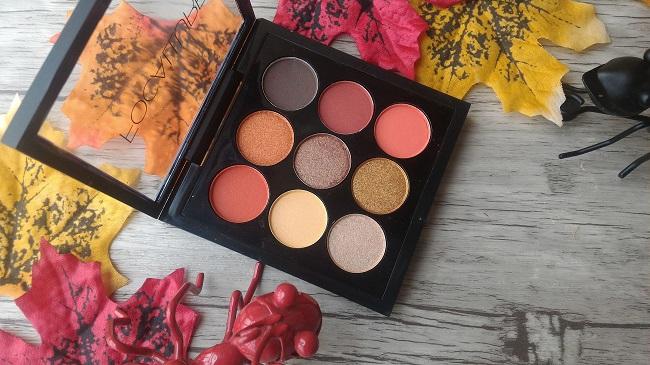 Maquillaje de otoño: sombras de ojos de la marca Focallure
