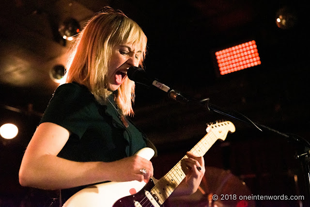 The Joy Formidable at The Horseshoe Tavern on November 4, 2018 Photo by John Ordean at One In Ten Words oneintenwords.com toronto indie alternative live music blog concert photography pictures photos