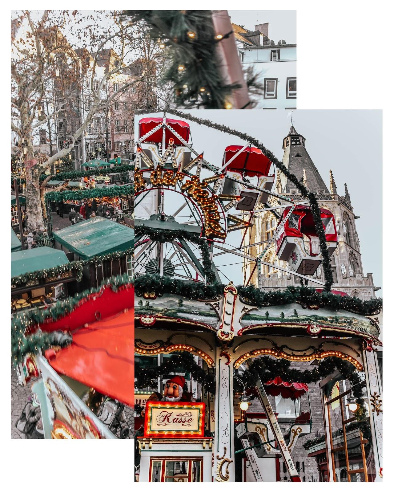 Cologne Christmas Heimat der Heinzel Ferris Wheel