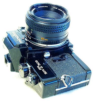 Minolta SRT-303, MC Rokkor-PF 50mm F1.7