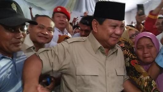 Prabowo: Ada Menteri Meninabobokan Negara, Tidak Ada Uang Utang