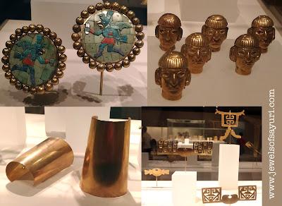 columbian gold jewelry