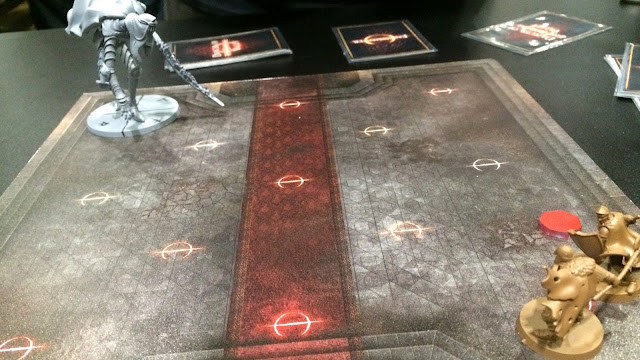 Dark Souls Board game preview face off