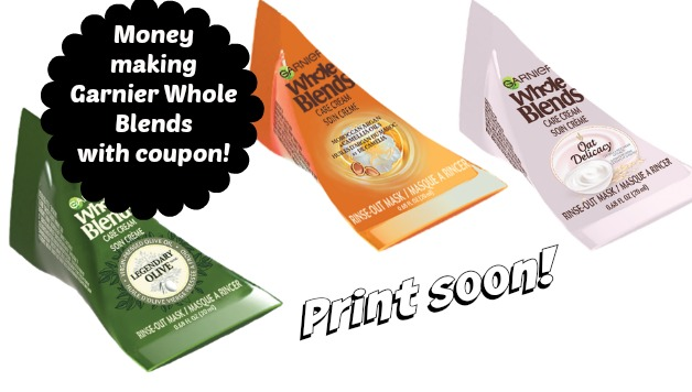 picture about Garnier Whole Blends Printable Coupon named Walmart: Funds Generating Garnier Total Blends Hair Masks with