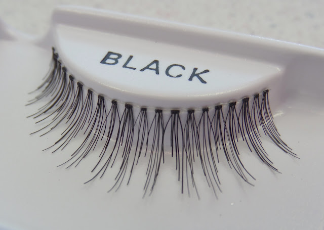 uneven length strip lashes