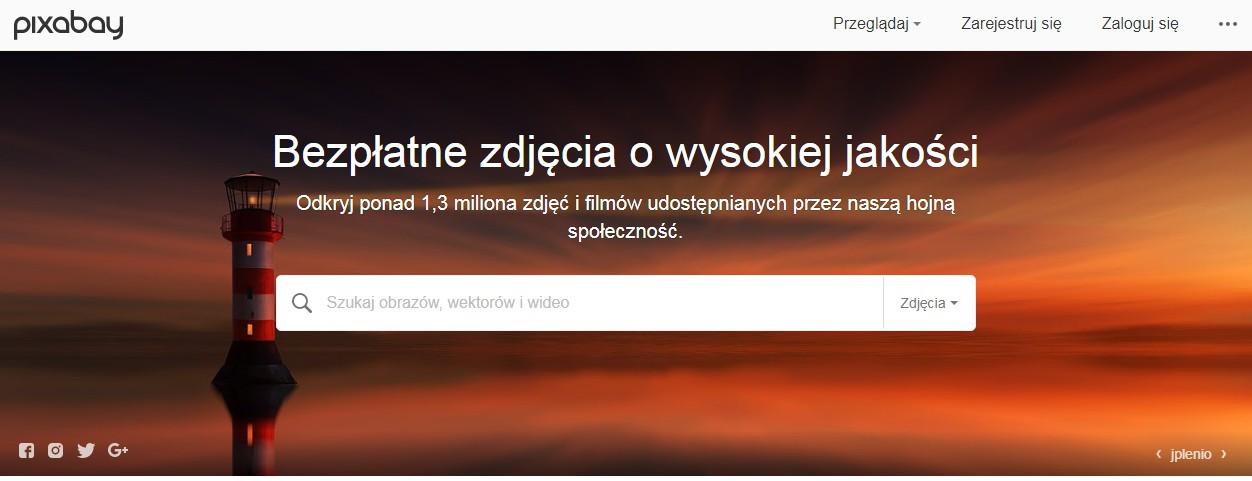 pixabay wyszukiwarka