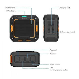 Recensione Speaker Bluetooth Impermeabile