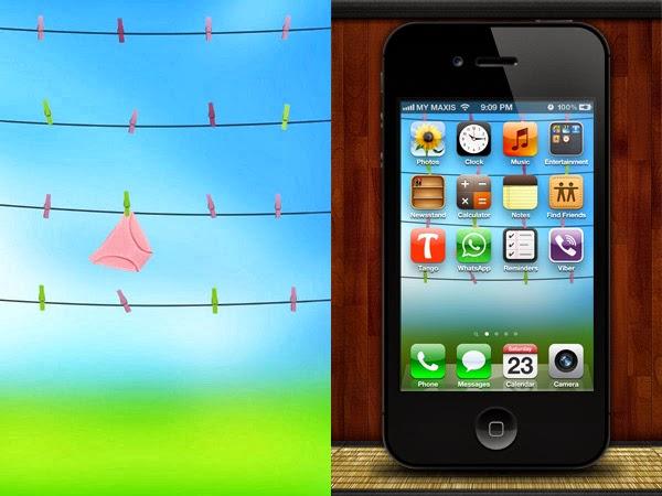 App Iphone 7 Wallpaper Border