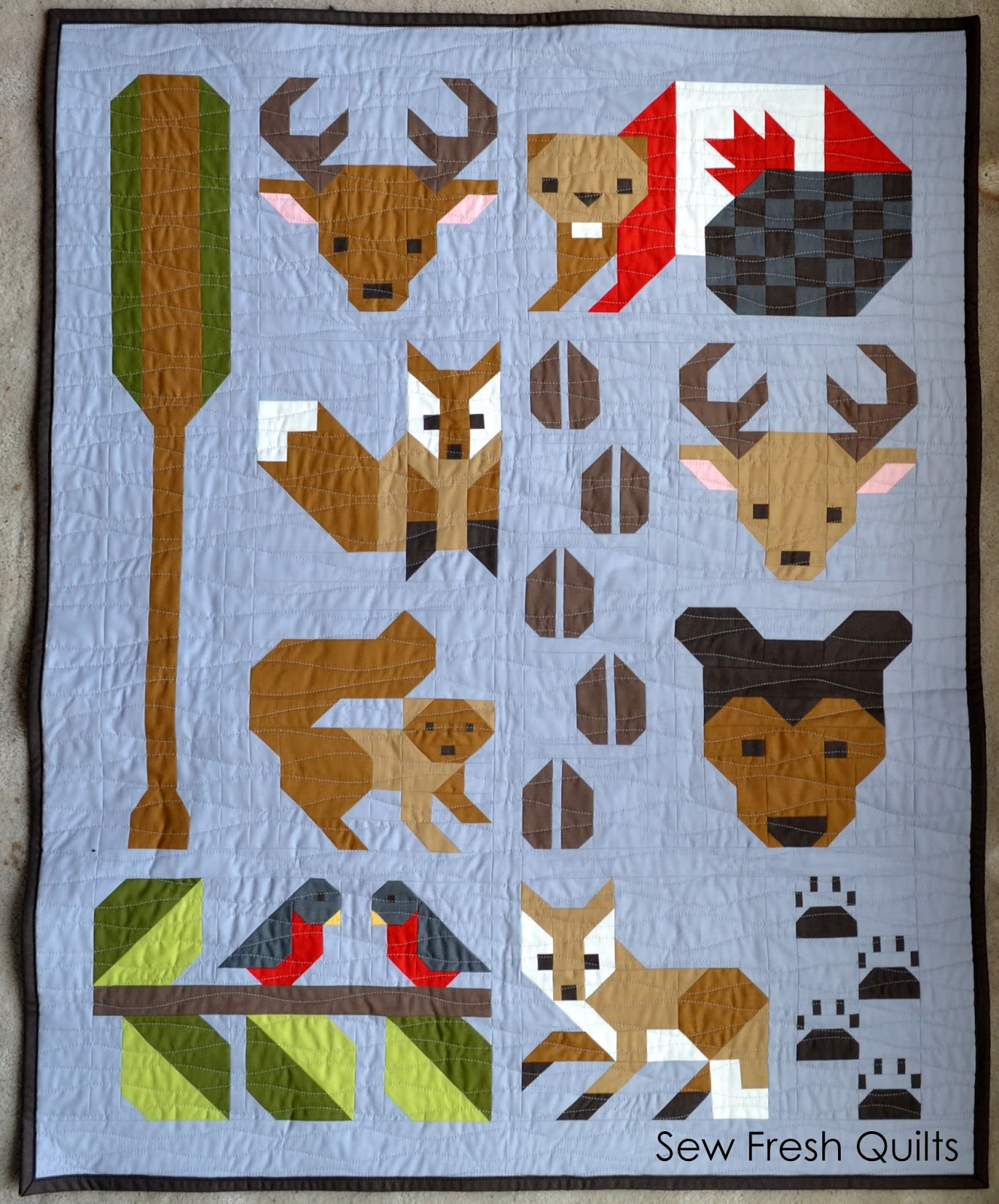 Sew Fresh Quilts Forest Friends Pattern Release