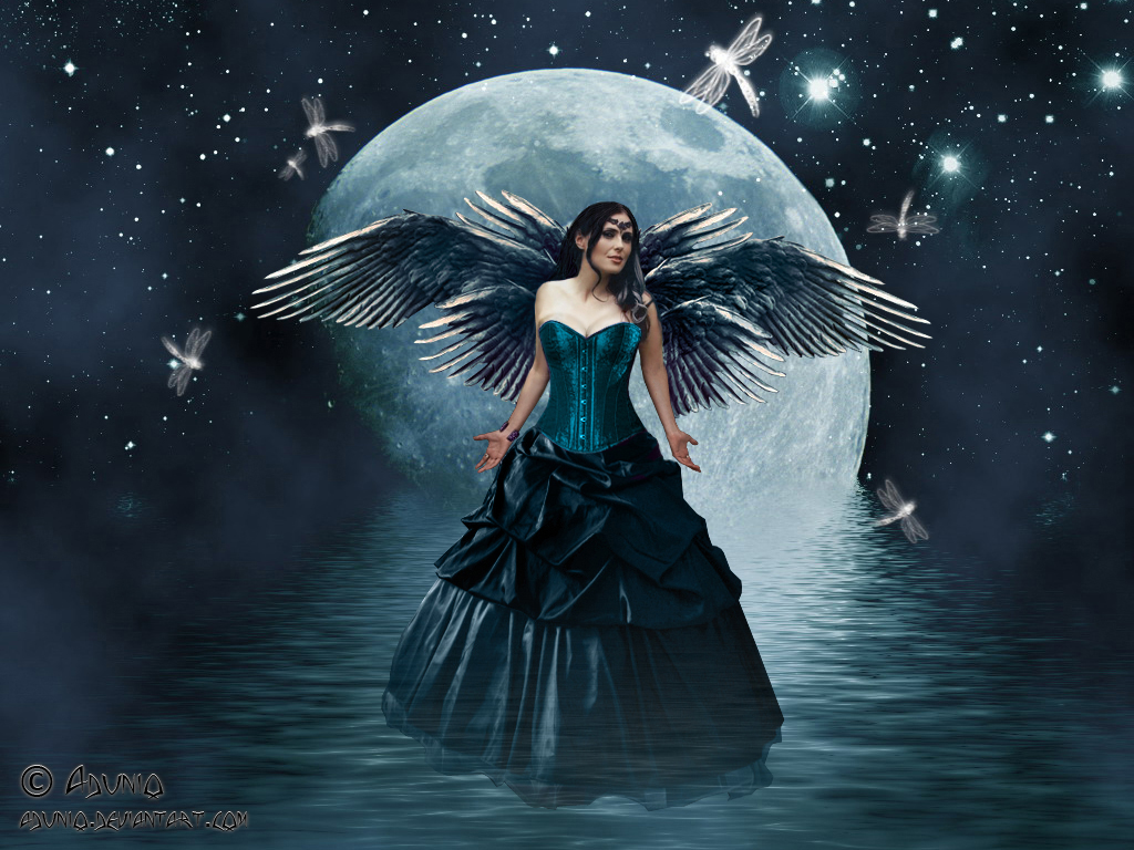 Fairies and angels wallpapers see to world - Most beautiful dark wallpapers ...