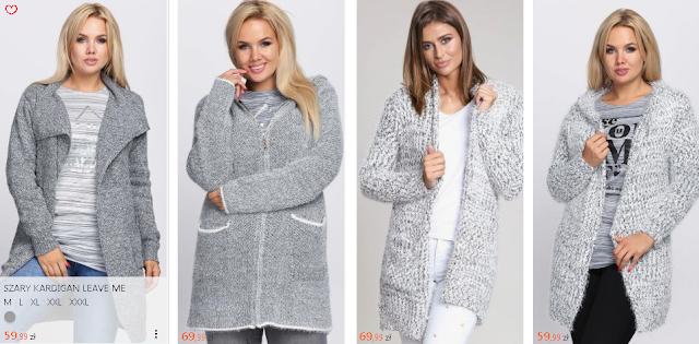 Najmodniejsze w sezonie 2018 i 2019 damskie swetry
