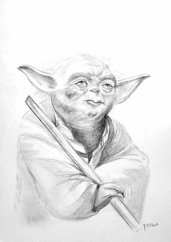 Nabrochot Creations Yoda Maitre Jedi Star Wars 76