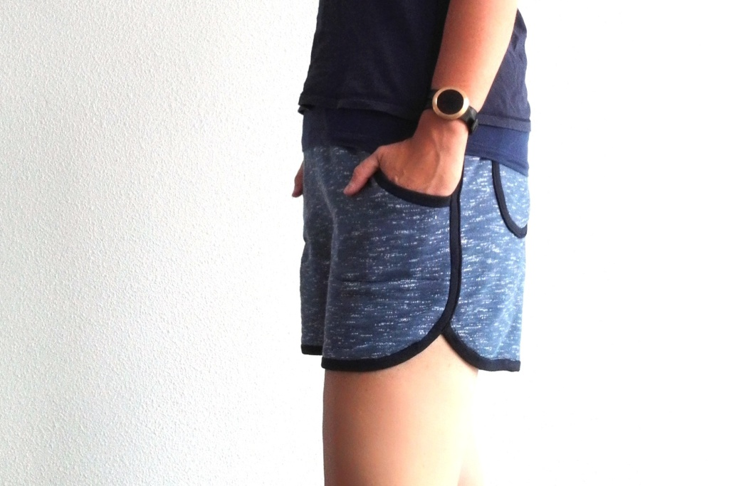 Nosh organics sweatshirting shorts