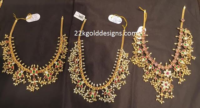 Guttapusalu Necklace Designs