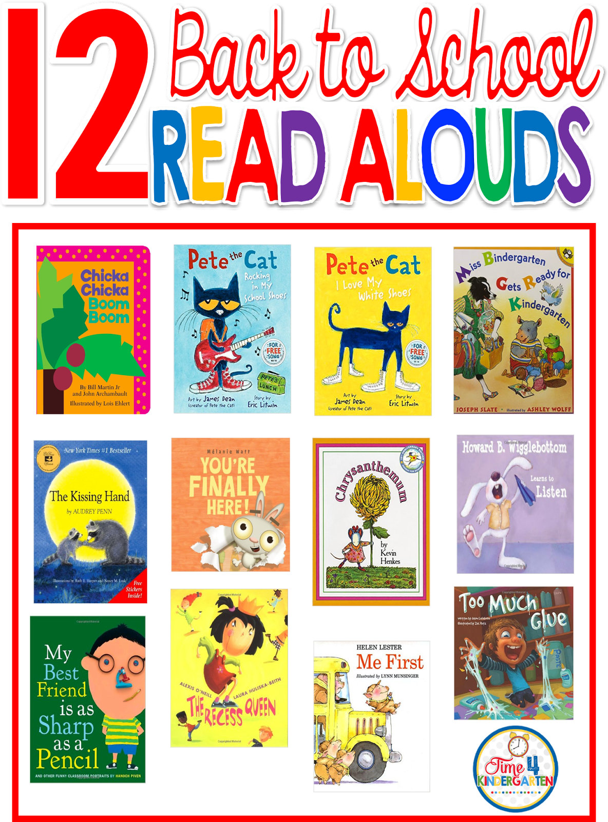 The Best Back To School Read Aloud Books