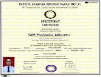 odith adikusuma, opra invest, wakil manajer investasi, wmi, sertifikat investasi, blog investasi, investasi personal