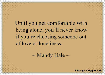 Dating someone out of loneliness
