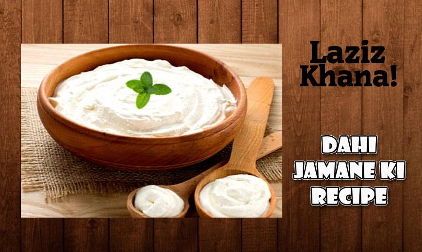 दही जमाने की विधि - Dahi Jamane ki Recipe in Hindi
