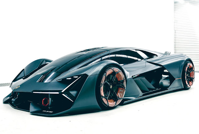 Фотографии электрокара от Lamborghini Terzo Millennio