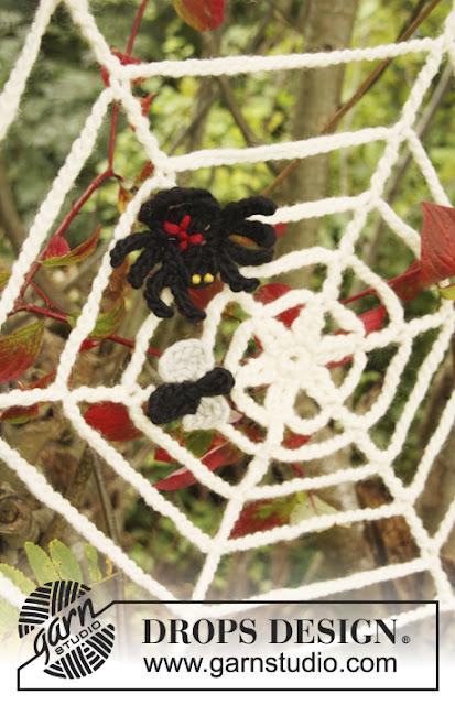 Toile d'araignée au crochet