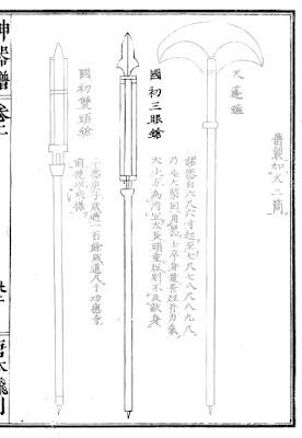 Ming Chinese San Yan Qiang