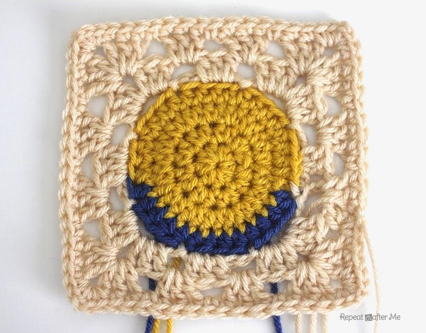 Crochet Minion Granny Squares Repeat Crafter Me