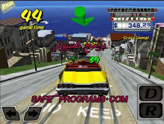 لعبة كريزى taxi توصيل الناس
