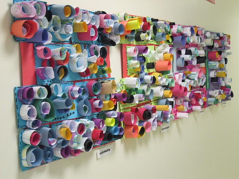 Color, Collage, And Much More: Cylinders Are Up