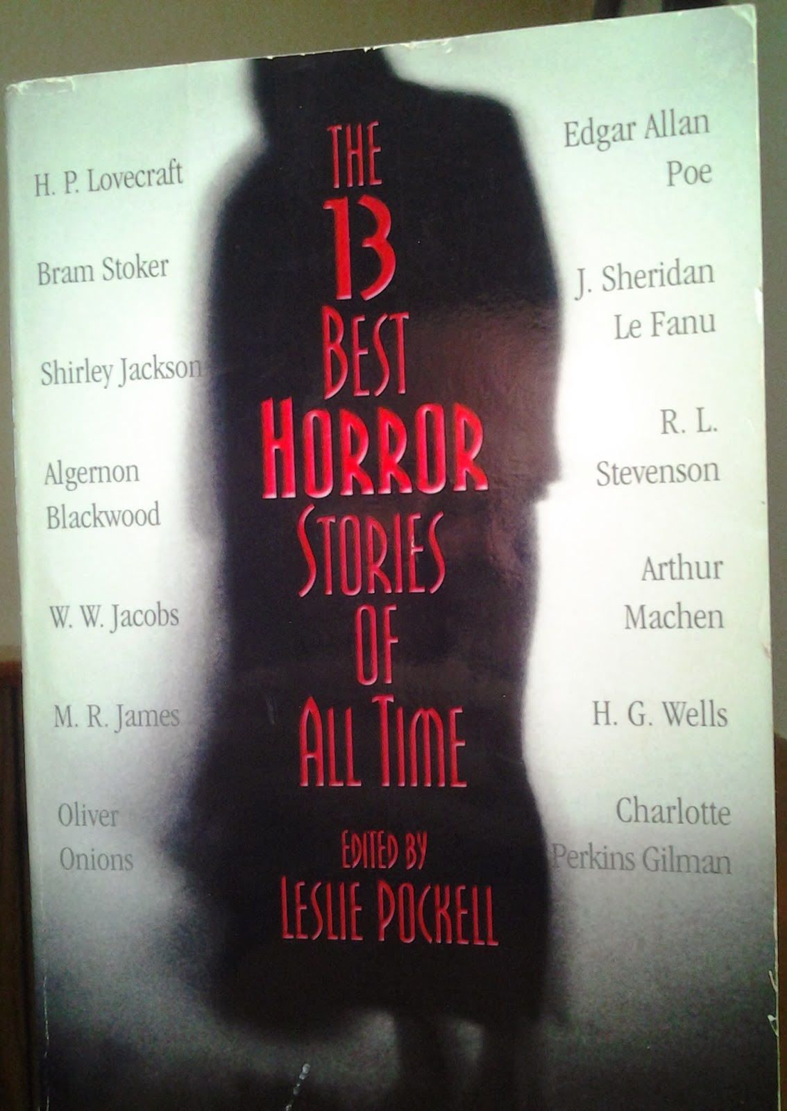 The 13 Best Horror Stories of All Time edited by Leslie Pockell, Warner Books