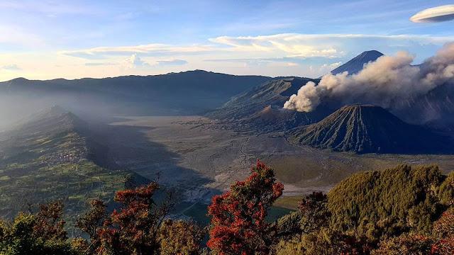 wisata di indonesia gunung bromo