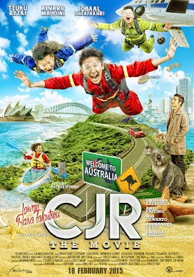 Poster Film CJR The Movie: Lawan Rasa Takutmu