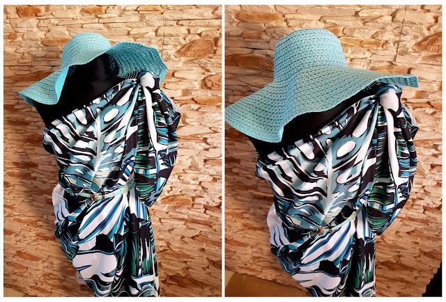 jak wiązać pareo - jak wiązać turban - how to tie pareo - how to tie turban headwrap - sukienka na plażę - sukienka na lato