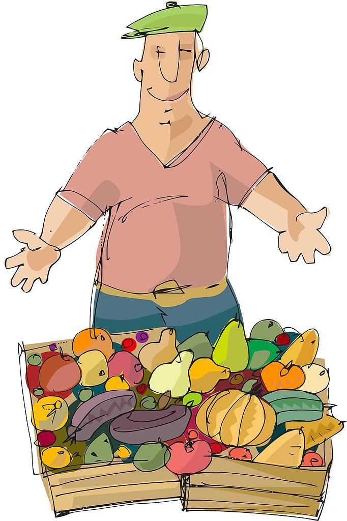 Открытки продавцу овощей, открытки день рождения