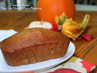 The Very Bets Pumpkin Bread full of spices & moisture - Easy Life Meal & Party Planning