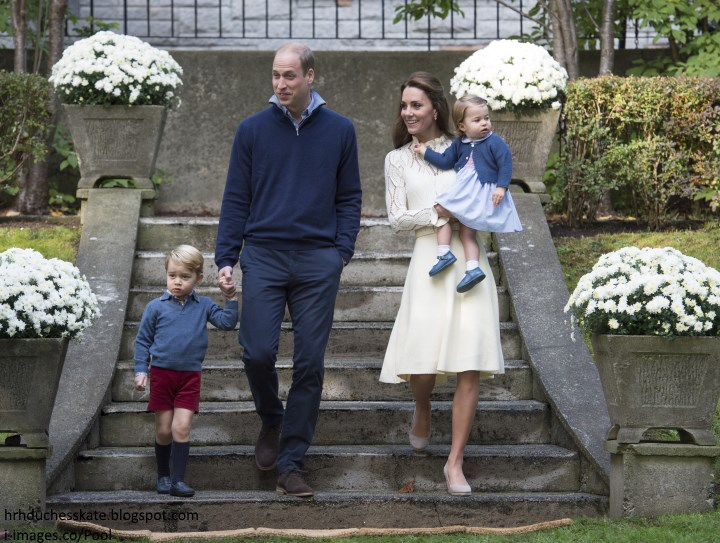 Duchess Kate: Bubbles & Balloons: George & Charlotte Steal the Show ...