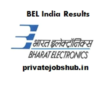 BEL India Results