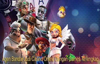 Agen Bandar Judi Casino Online Dengan Games Terlengkap