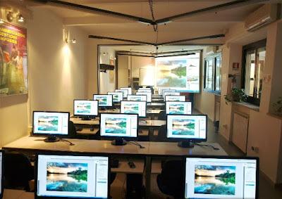 Aula Corsi dell'Istituto Cappellari di Ferrara