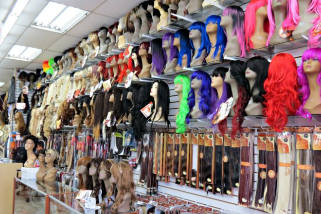 d68b3f65cdb Wigs, hair extensions, and hair accessories can be purchased retail and  wholesale at Chantel's. The Santee Alley store offers the best clip-in and  weaving ...
