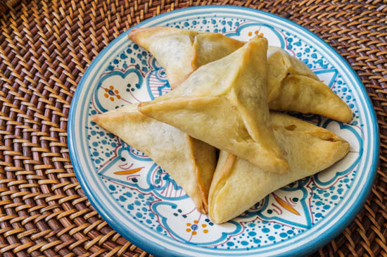 Fatayer Bi Sabanekh (Lebanese Spinach Turnovers) Recipe
