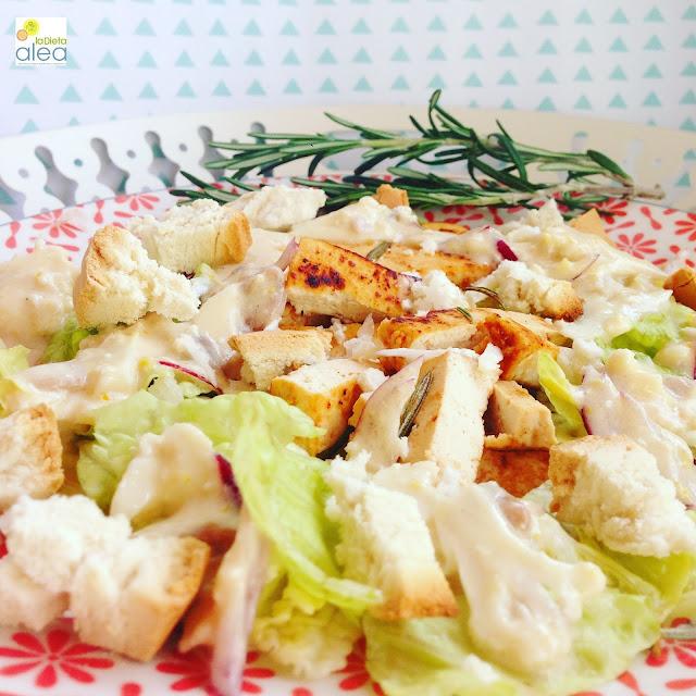 Ensalada césar ALEA de tofu