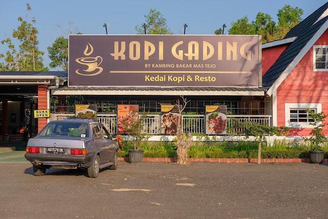 Kopi Gading: Kedai Kopi Specialty Terbesar di Gunungkidul.