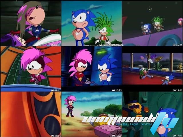 Sonic Underground Serie Completa Latino