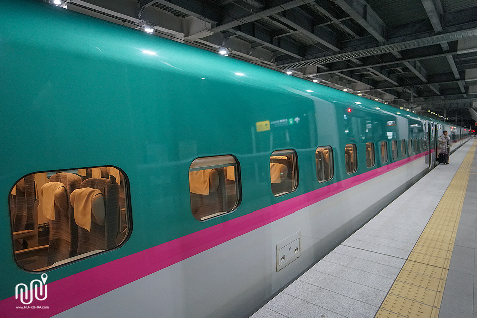 รีวิวนั่งรถไฟ SHINKANSEN ขบวน HAYABUSA ไป HAKODATE