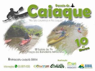Passeio de caiaque Rio São Lourenço a Rio Juquiá